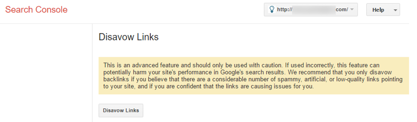 1. Download your Disavow File from Google Search Console