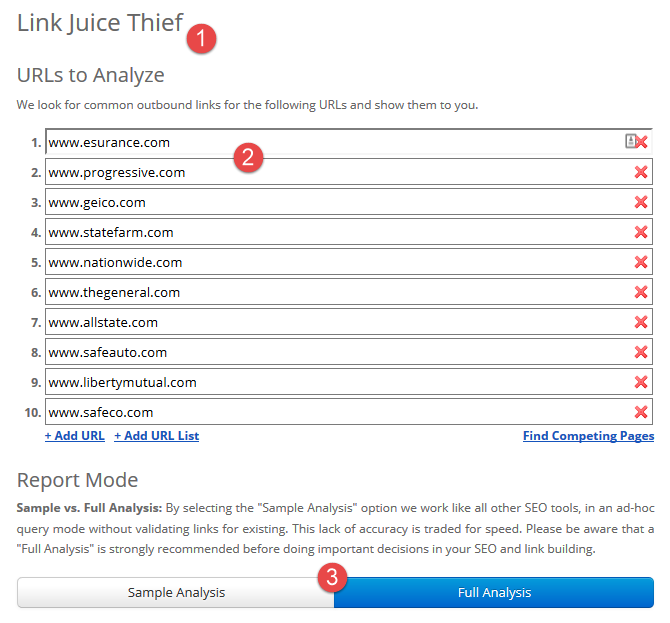 Link Juice Thief (LJT)
