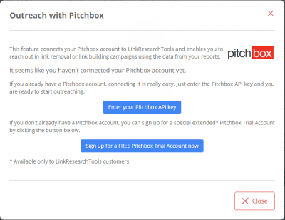 2 Create a Pitchbox Account and Set Up a Mail Address