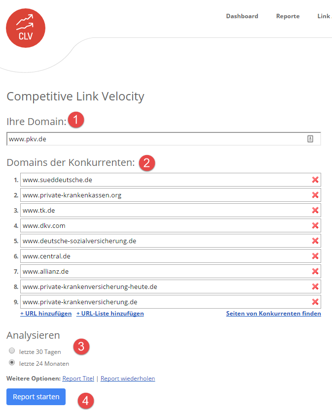 Competitive Link Velocity (CLV)