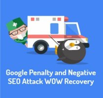 Google Recovery: Link Based Penalty through Negative SEO Attack