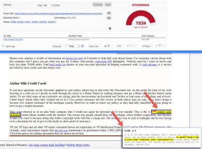Link Detox Screener (SCR)