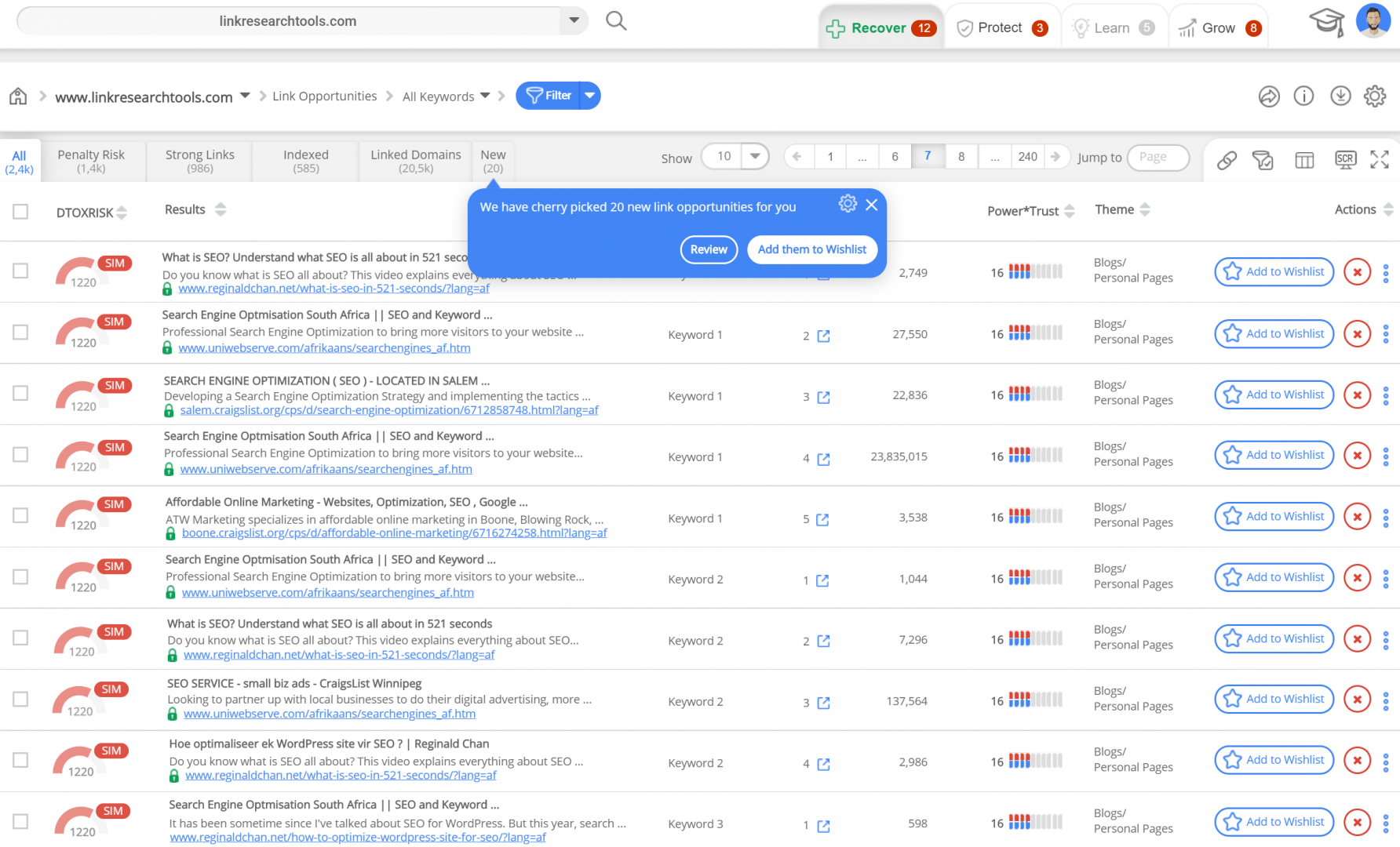 Link Building to Grow Organic Search Traffic